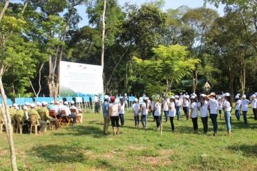 National Park Management Board of Phong Nha - Ke Bang held in response to World Environment Day.